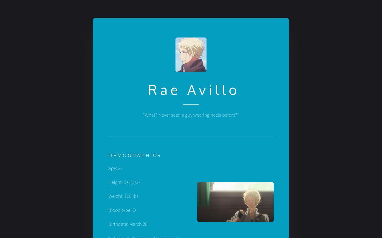 Rae Avillo